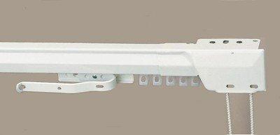 kirsch Superfine Unique Centre Ouverture réglable Traverse Rod (96,5 cm - 167,6 cm)