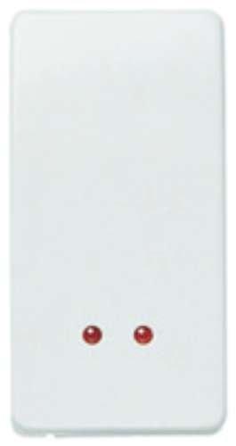Niessen stylo - Interruptor bipolar visor serie stylo blanco alpino