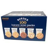 Border Biscuits 5 Variety Pack 100's - 2 boxes (400 Biscuits in total)