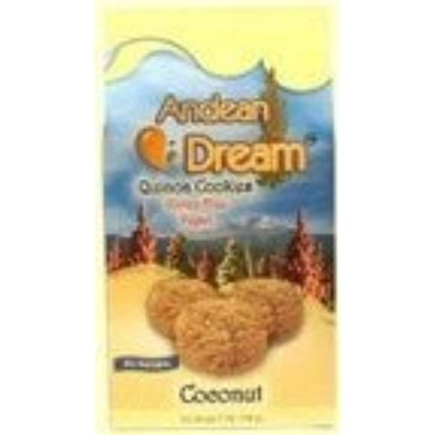 Andean Dream Quinoa Coconut Cookies Gluten Free ( 6x7 OZ) by Andean Dream - Quinoa Gluten Free Cookies