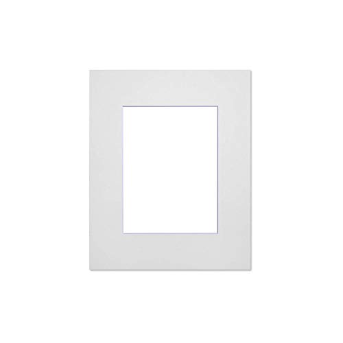 Nielsen Passepartouts für Bilderrahmen, Weiß, 5 Stück, Cadre 30 x 40 cm - Ouverture 19 x 29 cm