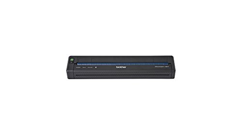BROTHER PJ-763 PocketJet Compacte Thermische mobiele A4-printer 300dpi USB 2.0 Full Speed en Bluetooth