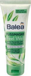 Balea Fußmaske Feel Well, 1 x 75 ml