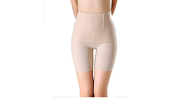 41ba73d6eee CR Body Shaper Slimming Underwear High Waist Trainer Shaper Control Panties  Plus Size 4XL Cool Soft Panty Color Beige Size 4XL  Amazon.in  Beauty