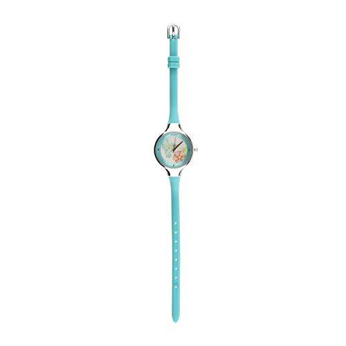 THUN - Orologio da polso Colibri azzurro cassa in acciaio - 23 cm