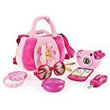 SainSmart Jr. 8 Teilige Täuschungsspielset für Prinzessin, Rosa - Kind Handtasche