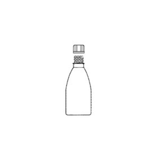 neoLab E-4144 PE Enghalsflasche mit Verschluss, 1000 mL Nennvolumen