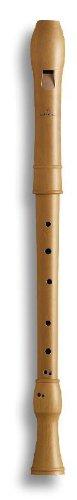 Mollenhauer 2406 Canta Tenor-Blockflöte Barock mit Doppelloch Birnbaum hell Natur-Holz - Tenorflöte in C - Tenorblockflöte inkl. Baumwolltasche, Wollwischer, Fettdöschen, Grifftabelle und Pflegeanleitung