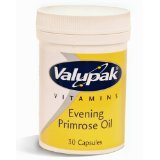Br Pharmaceuticals Limited Valupak Evening Primrose Oil Capsules 500Mg 30 Pack by BR PHARMACEUTICALS LIMITED