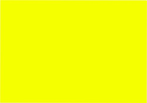 Neonpapier NEON DIN A3, 80 g/qm farbiges Briefpapier, Leuchtpapier, 100 Blatt - Gelb