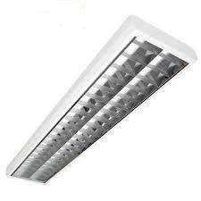Retos Rasteranbauleuchte Büroleuchte Deckenlkeuchte Leuchtstoffröhre