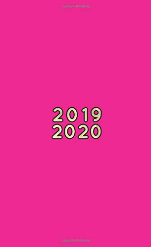 2019-2020: Two-Year Pocket Planner | Mini 4 x 6.5"