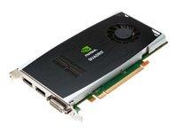 PNY NVIDIA Quadro FX 1800 Grafikkarte (PCI-e, 768MB, GDDR3 Speicher, DVI, HDTV) bulk (Dvi-hdtv-pci Express)