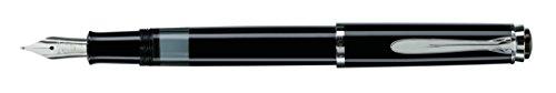 Pelikan Elégance M215penna stilografica nero annelé Punta B Plume nero