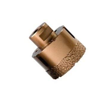 WERKON Premium Diamant Fliesenbohrer 68 mm M14 GRANIT 15mm Belag Trockenbohrer Bohrkrone