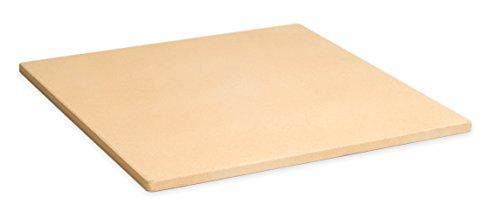 "Pizzacraft 15"" Square Cordierite Baking/Pizza Stone - For Oven or Grill - PC9897"