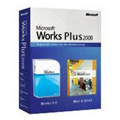 Microsoft Works Plus 2008 (Word 2003 + Works 9.0) - 1 Pc