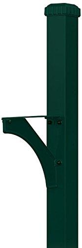 Salsbury Industries Designer in-ground montiert Dekorative Mailbox Post, 4835GRN - Industrie-designer