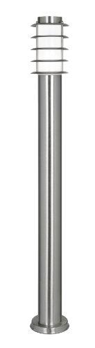 Oaks Lighting 112/1000 SS Altay - Lampione in acciaio INOX con diffusore in policarbonato opaco