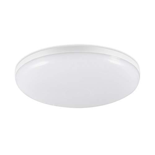 LED Deckenleuchte, Deckenlampe Rund Badleuchte Küchen Lampe Deckenleuchte Kreative Energiesparlampe für Büro Flur Küche Schlafzimmer Wohnzimme (Warmweiß 18W)
