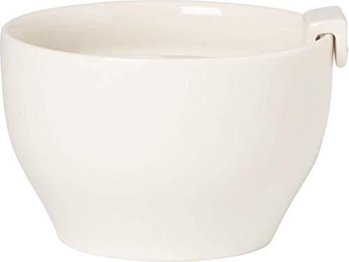 Villeroy & Boch Coffee Passion Zuckerdose, 3-teilig, 170 ml, Premium Porzellan, Weiß