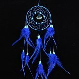 Beautylife Dream Catcher Car Home Decor Feder handgefertigte American Indian Traumfänger (Decor Dream Catcher Home)