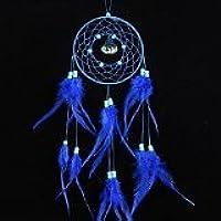 zeuxs Atrapasueños Dream Catcher Viento, decoración hogar jardín, azul