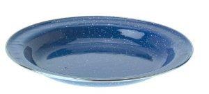 Den Blauen Teller (GSI Outdoors 31522 Pioneer Emaille-Teller, 21,6 cm, Blau)