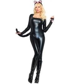 Imagen de leg avenue  disfraz de catwoman para mujer, talla l 8362303001