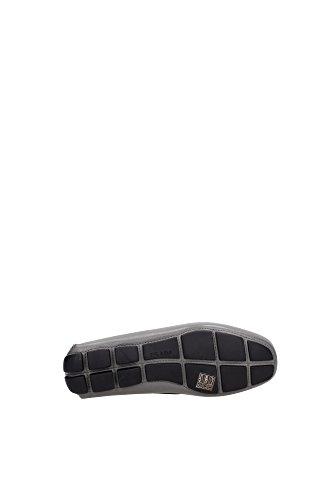 Loafers Grau Leder 2dd001mercurio Prada Herren xwR8q4TZ6