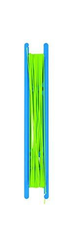 Cresta Slip PERY Elastic (caoutchouc) Ø = 0,7mm fluo green-Cresta Pole Gear élastique