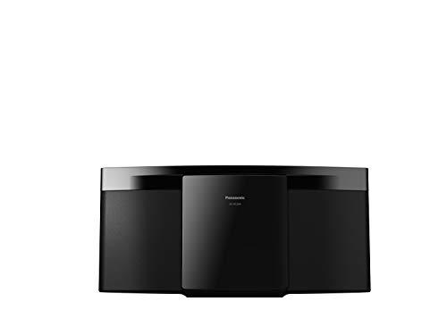 Panasonic SC-HC204EG-K Micro HiFi System (20 Watt RMS, CD,UKW, Radio, Bluetooth) schwarz