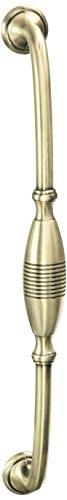 MNG Hardware 16021 22,9 cm C/C 25,4 cm Gesamtlänge gestreift, Satin Antique Nickel