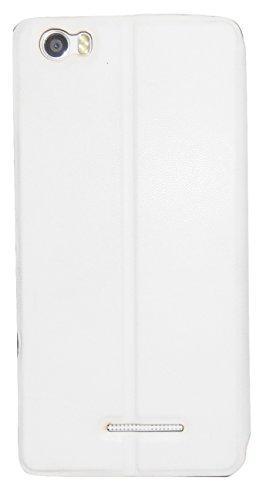 Mercator Diary Flip Cover for Xolo Era 4K - White