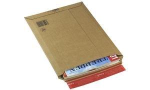 ColomPac CP 010.04 Versandtaschen 235x340 mm aus Wellpappe, braun - 100 Stück