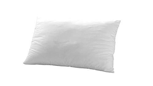 Dormiluna Orthopädisches Anti-Schnarch Kissen | Schlafkissen für Allergiker, Seitenschläfer und Rückenschläfer | Atmungsaktiv | Punktelastischer Schaumkern | 40 x 80 cm