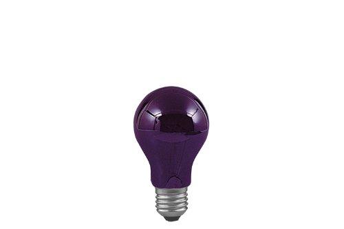 Paulmann 590.70 Agl 75W E27 59070 Glas 75W Schwarzlicht 59070 Allgebrauchsglühlampe Leuchtmittel Glühlampe