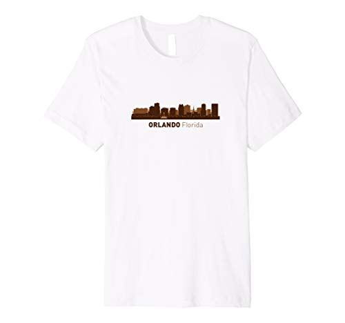 Orlando, FL City Skyline   Florida Hometown Pride T-shirt