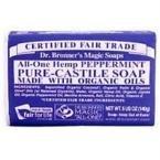 Dr Bronner's 140 g Organic Peppermint Soap Bar