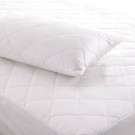 Matching Bedrooms Luxury Quilted Pillow Protector 2 Pack