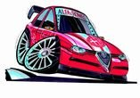 Alfa Romeo 156 Poster / Print / Image