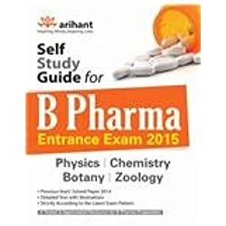 Self Study Guide for B.Pharma Physics/Chemistry/Botany/Zoology (Old Edition)