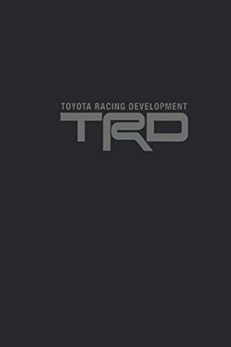 Toyota Racing: Trd Simplicity Notebook, Journal for Writing, Size 6