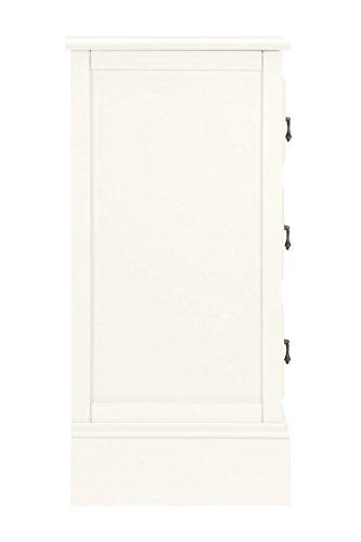 CLP Sideboard LUANA mit 7 Schubladen, im Landhaus-Stil, Maße 125 x 42 cm, Höhe 86,5 cm weiß - 2
