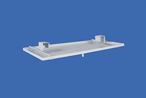 Kondensatwanne Metall für Klimaanlagen oder Wärmepumpen 850mm -
