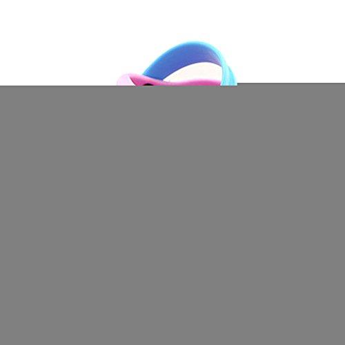 Kleine Tomate Unisex Kinder Hausschuhe Kinder Clogs Gartenschuhe Raupe Bequemer Atmungsaktiv Strand Aqua Slippers, Pink, Gr. 18(Schuhe Innenlänge:110mm)
