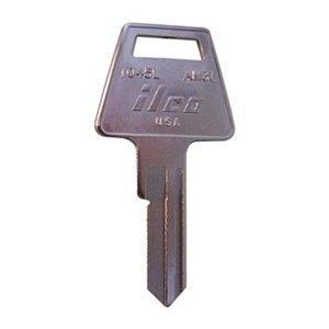 Key Blank, Brass, 1045L-AM3L, PK 10 by Kaba Ilco