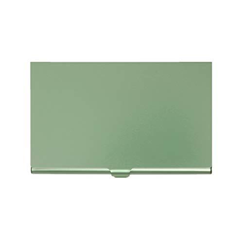 VJGOAL Visitenkartenhalter Einfarbig Metall Platz Multifunktional Praktisch Kartenetui 8 Farbe -