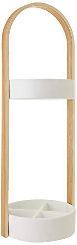 Umbra hub portaombrelli naturale, legno, bianco/natura, 68.00x24.70x22.40 cm, 2 unità