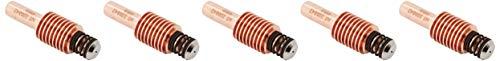 hypertherm 220842DuraMax Elektrode für powermax65/85/105Plasma Taschenlampe, 45a-105A (5Stück)